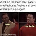 My little toilet friend