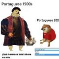 portugueses antes vs portugueses ahora