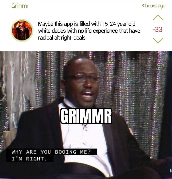 He's right tho - meme