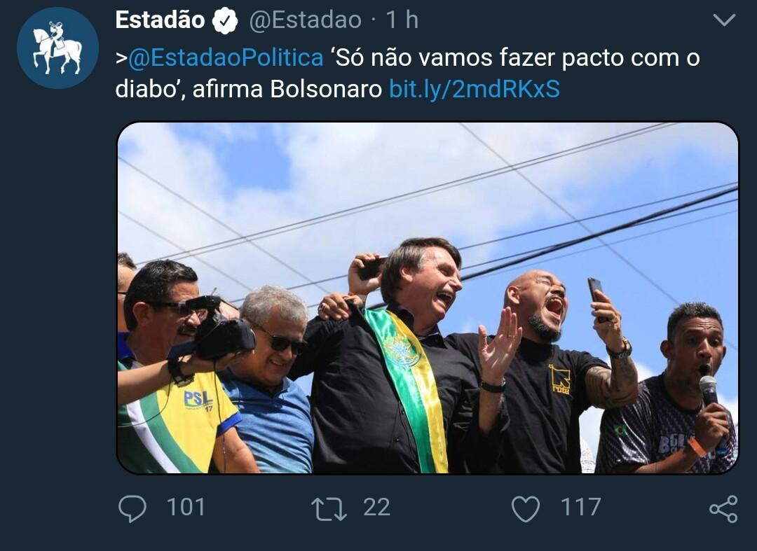 Bolsonabo ... Que piadao em aff - meme