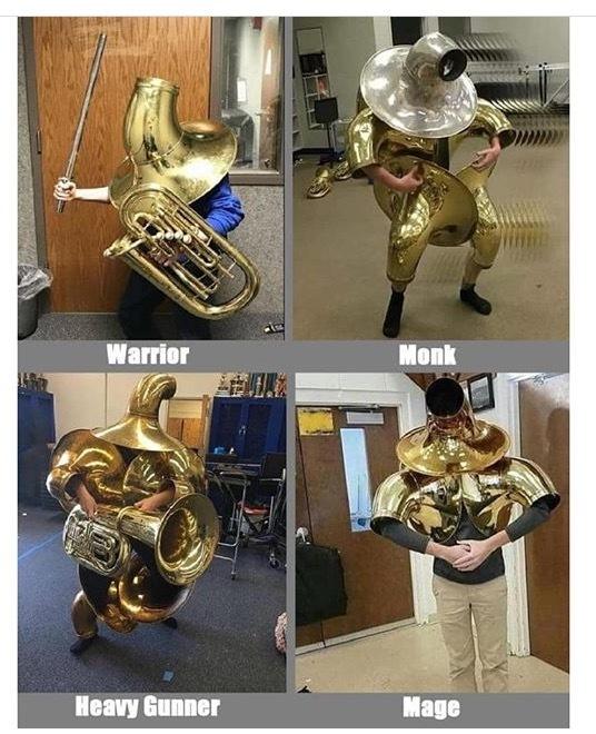 The four horsemen - meme