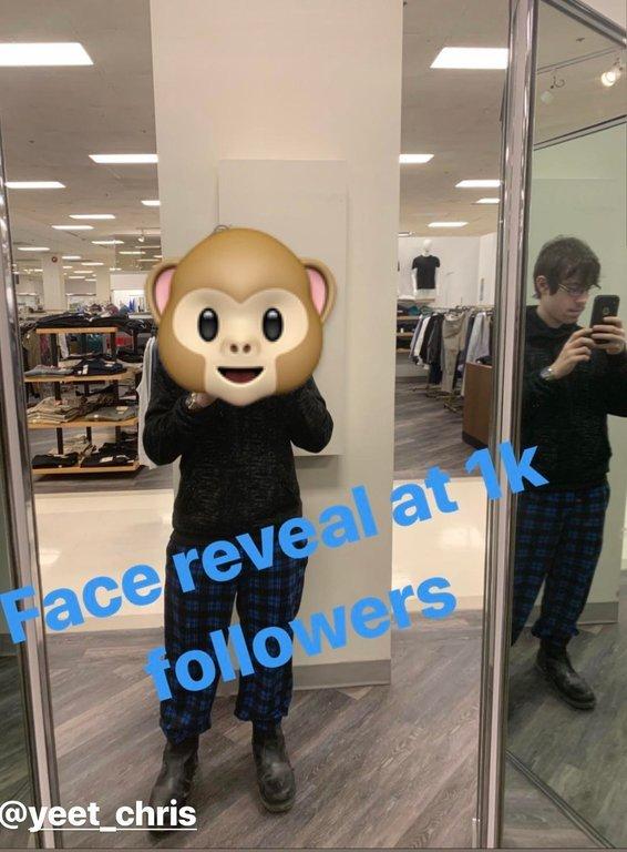 Face reveal at 1k (Fail) - meme