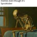 Sad skeleton noises