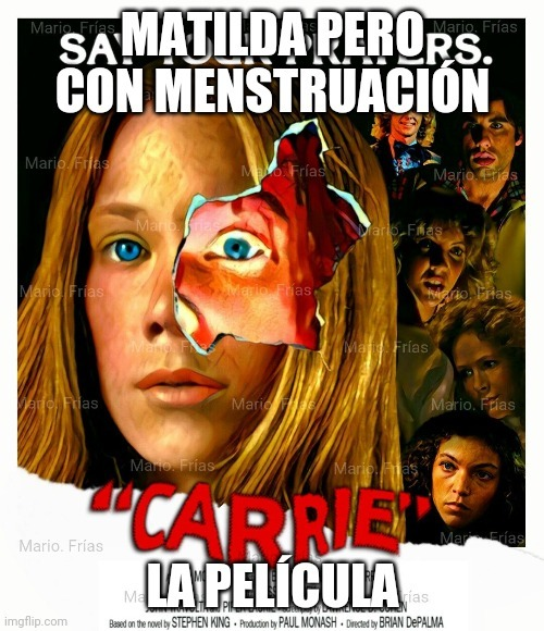 Menstruación - meme