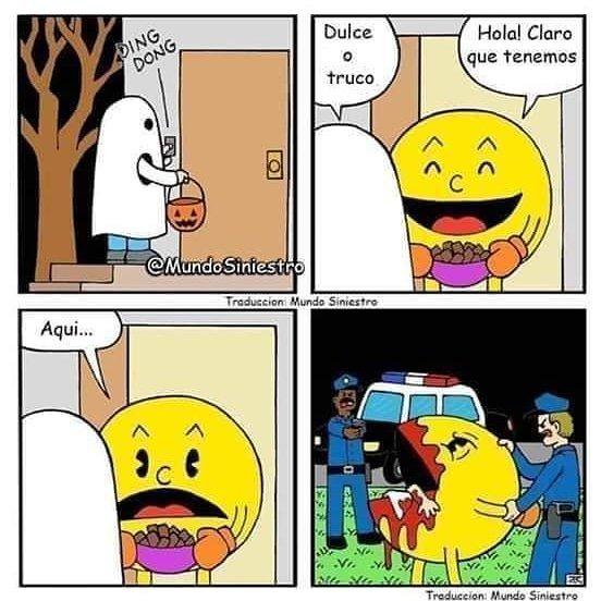 Pacman que hiciste - meme