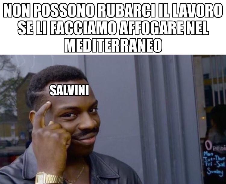 ragionamento giusto - meme