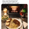 Dinner with Bae