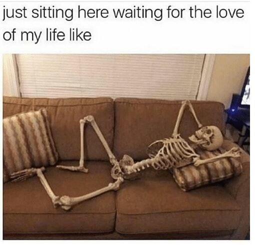 Spooky love - meme