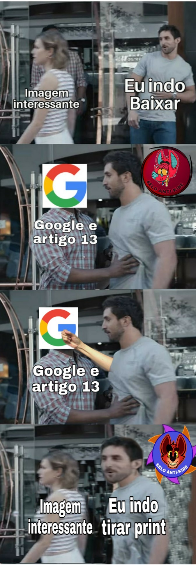 Antes que alguem pergunte é pq algumas imagens do google no celular não estão aparecendo a opção de download seu internaltas - meme