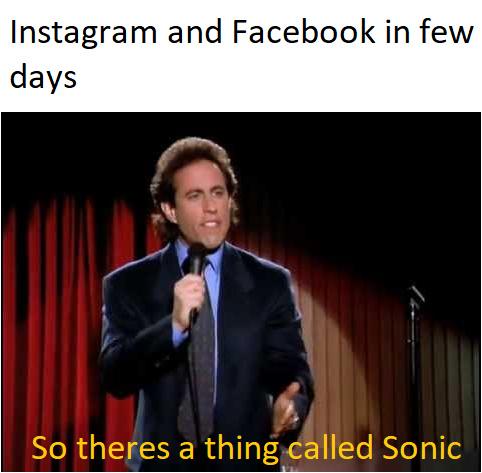 Instagram and Facebook in a few days - meme