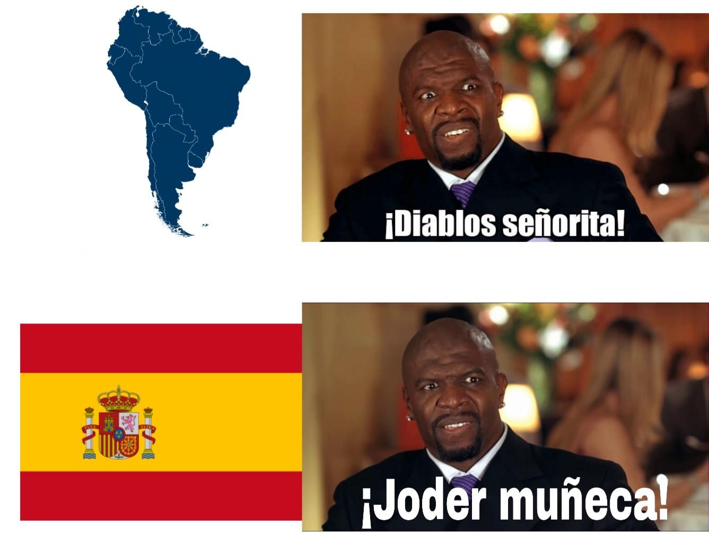 Diablos Españita! - meme