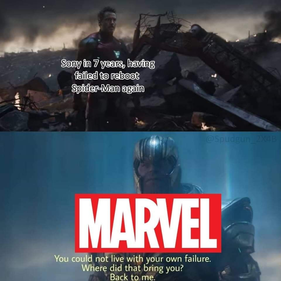Keep Spider-Man in the MCU - meme