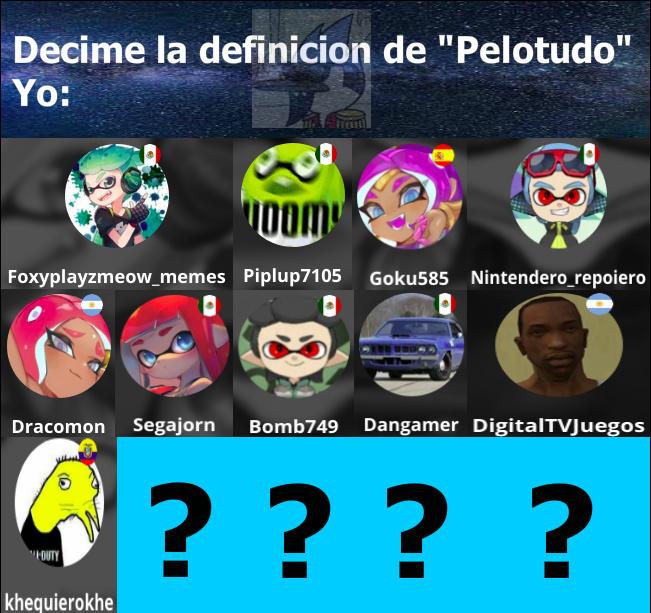 Y la lista podría seguir y seguir... :haters: PD: Que extraño que casi todos sean mexicanos :betterthan: - meme