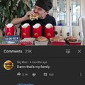 F por la big Mac