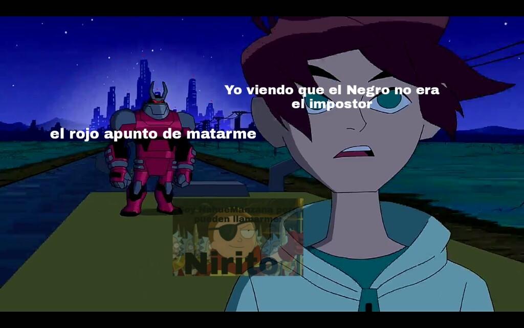 Si quieren la plantilla pidanla a mi discord Nirito #8175 - meme
