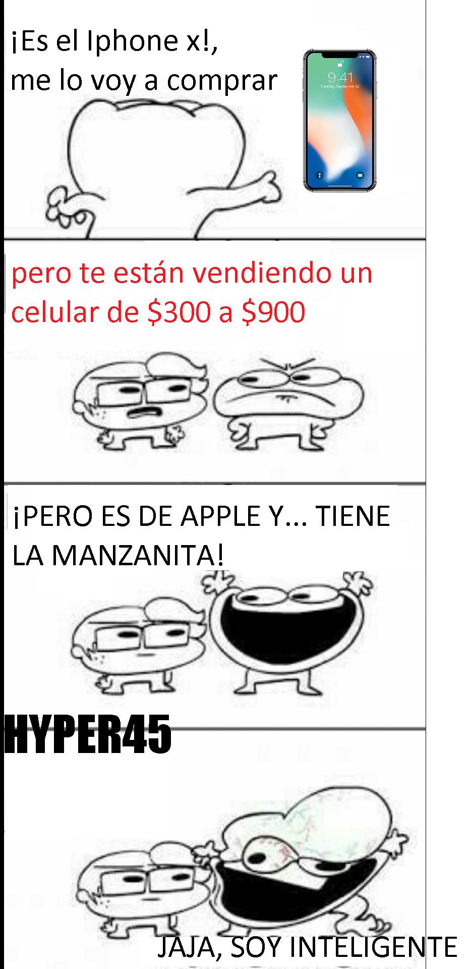 Apple te vende productos de $300 a $900 y se burla de ti, literalmente - meme