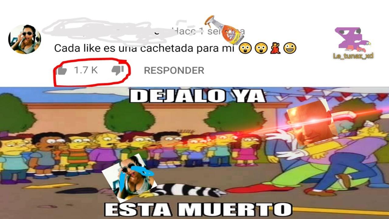 cachetadas 7u7 - meme
