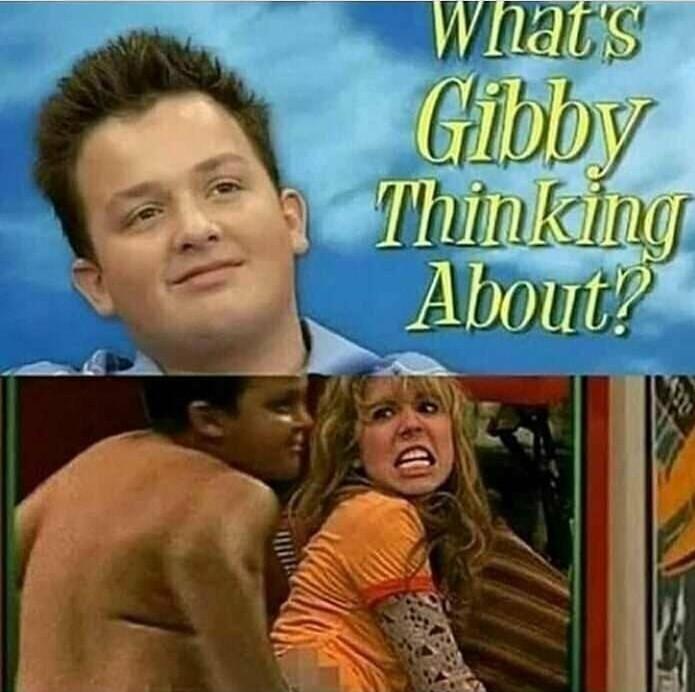 Gibby a freak - meme