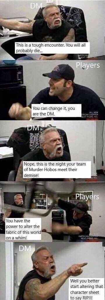 Dnd - meme