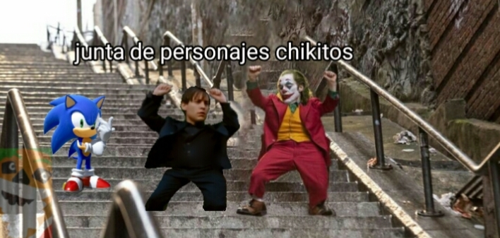 El bromas chikito vs peter parker chikito vs sonic chikito - meme