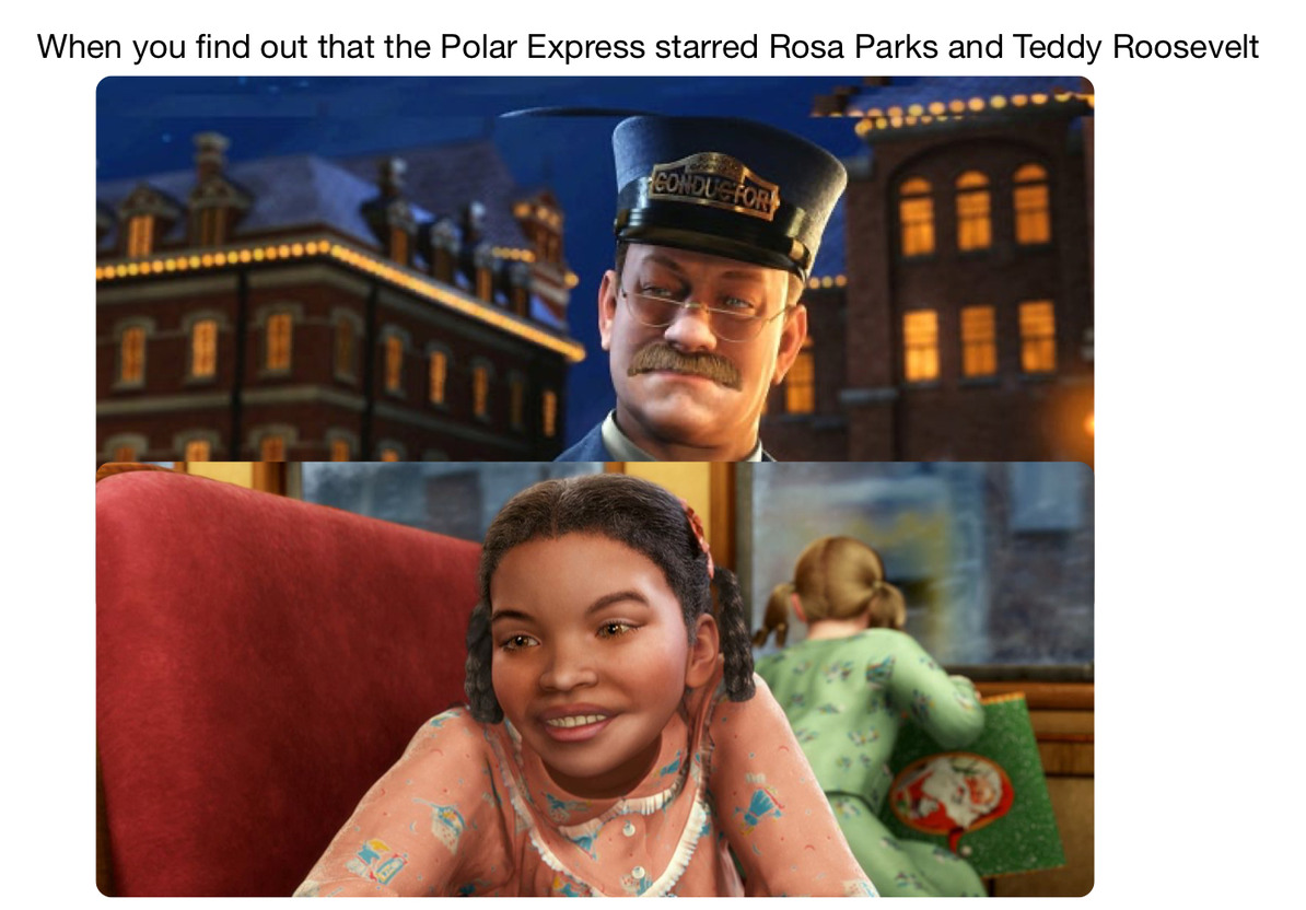 Polar Express - meme