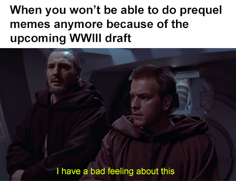 I must hurry up, I have 600 templates in reserve - meme