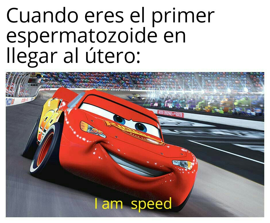 Soy velocidad - meme