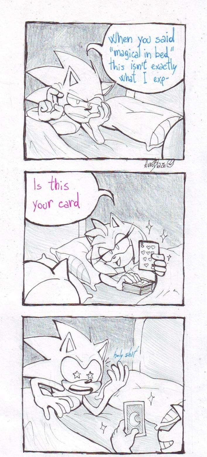 It's Sonic! - meme