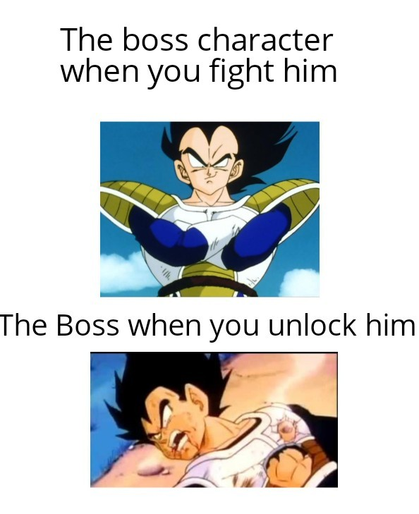 He was so strong until Namek - meme