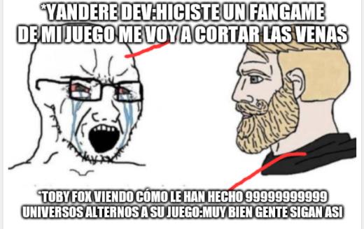 Yandere Dev mariquon - meme