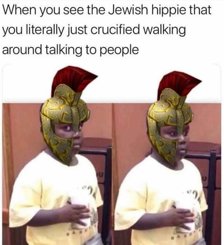 Damn Jews - meme