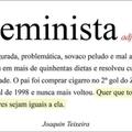 Feminista é um cu