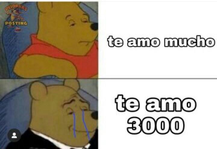 Te amo 3000 ;) - meme