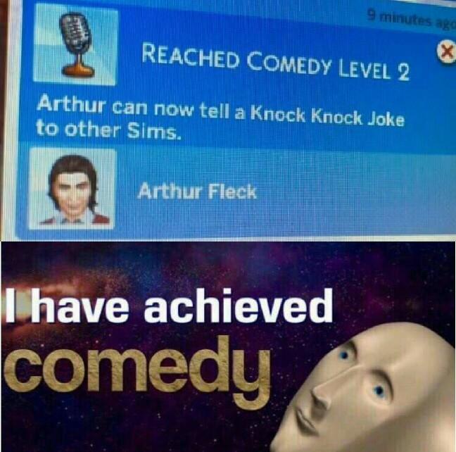 Comedy lvl.2 (hahaha) - meme