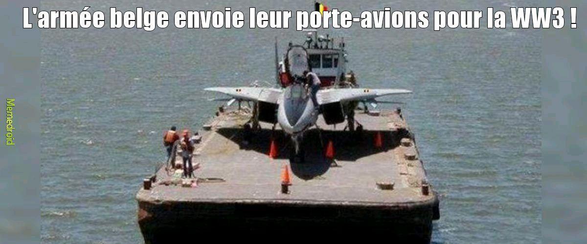 L'armée belge - meme