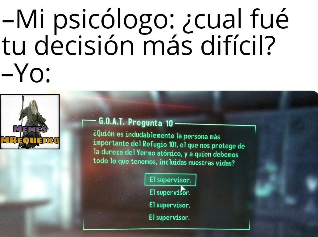 Obviamente, Fallout 3 - meme