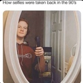 those were good selfies