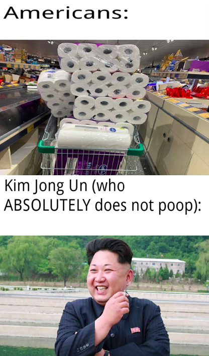 Kim Jong Un also shot a 25, on an 18 hole golf course the first time he ever played golf. - meme