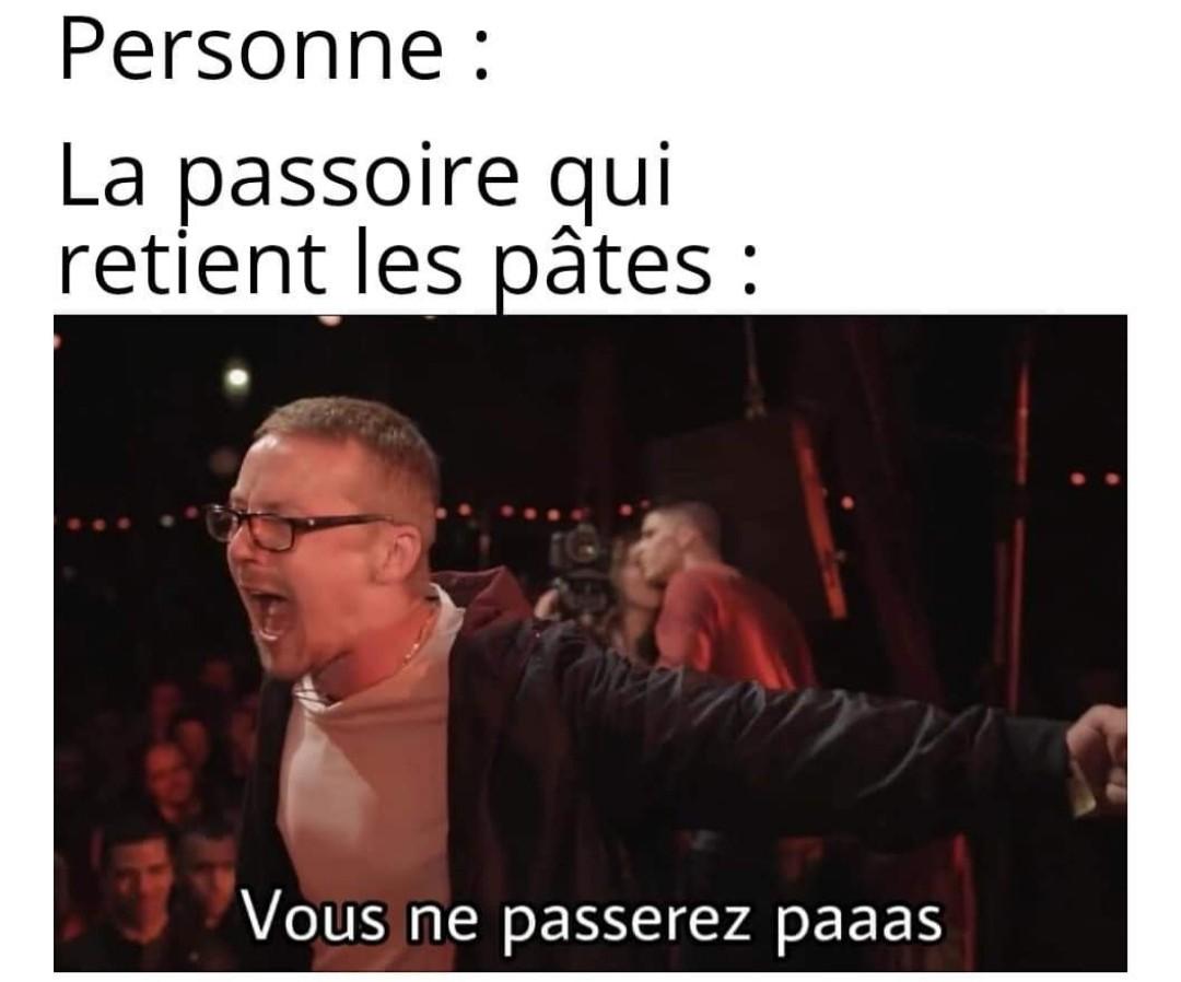 You should not paaaaaast - meme
