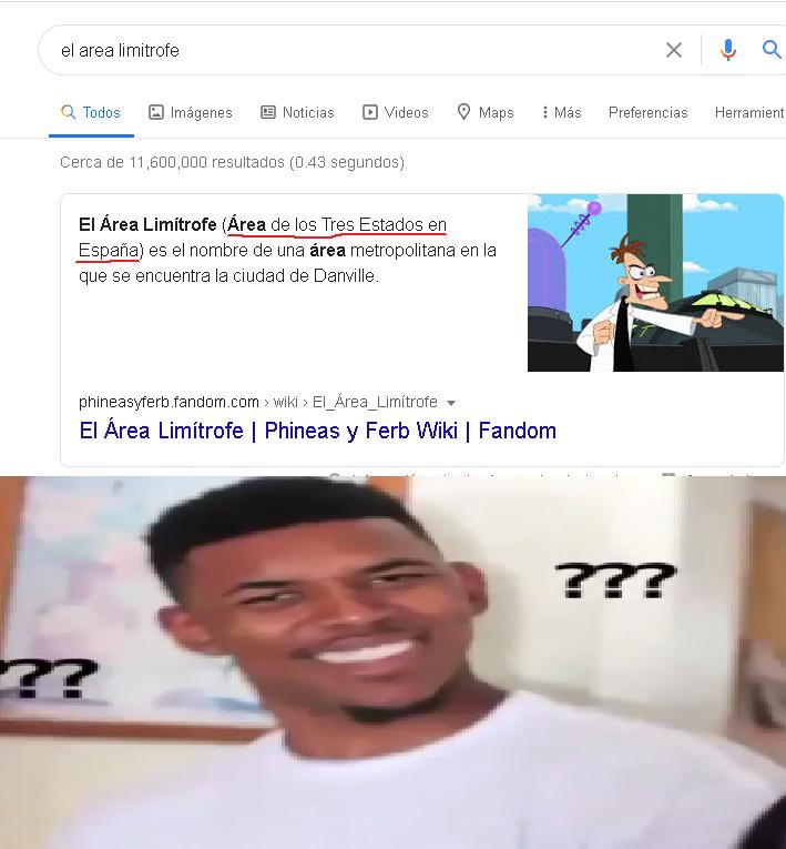 Ahora si... A CONQUISTAR EL AREA LIMITROFE - meme