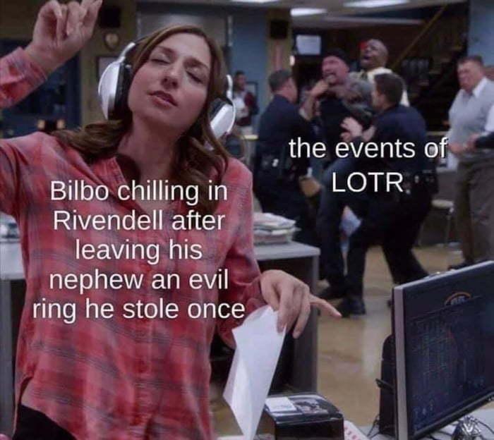 LOTR + B99 = This - meme