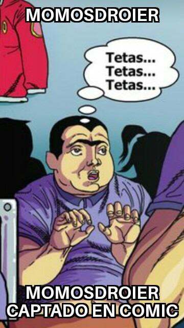 Un momodroier captado en comics Lee los tags - meme