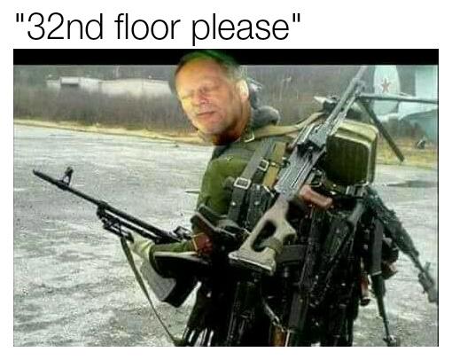 I swear i don't have a gun - meme