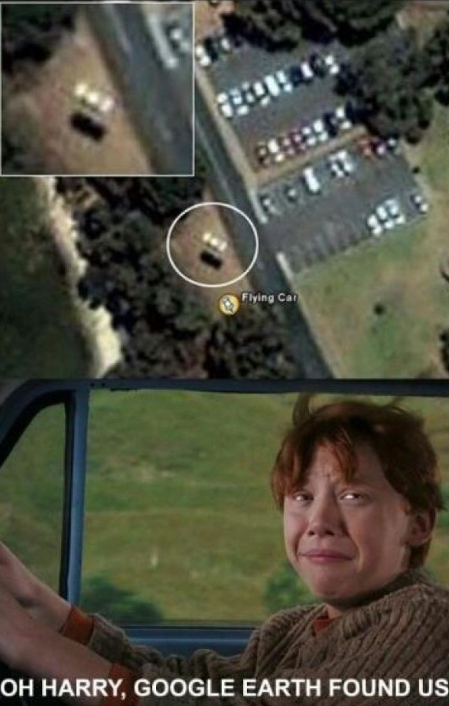 Google earth - meme