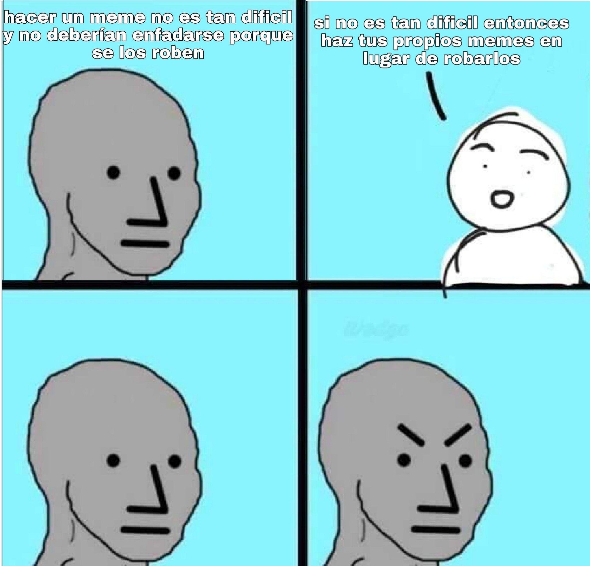 Y eso por no hablar de los shitpost - meme