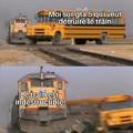 Vous avez fait quoi avec le train sinon?
