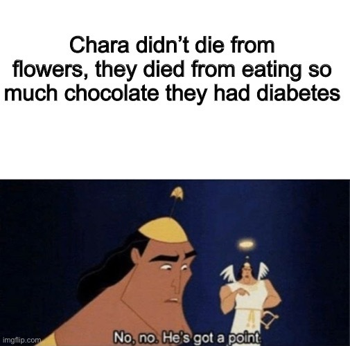 Explains why they ate chocolate - meme