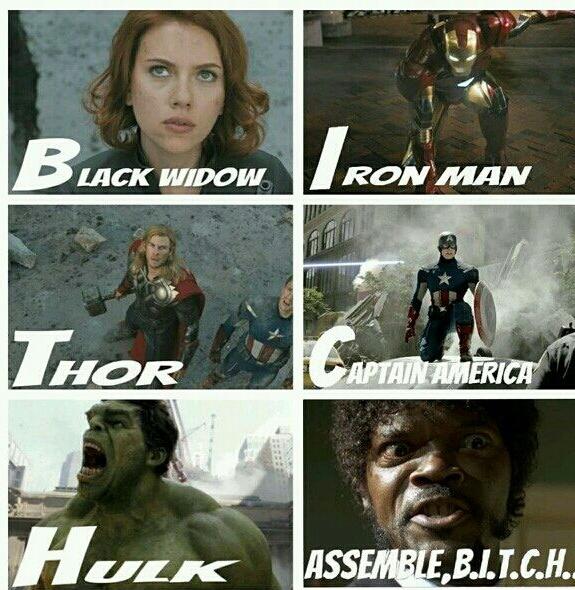 assemble, b.i.t.c.h - meme