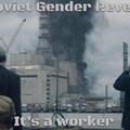 Soviet gender reveal