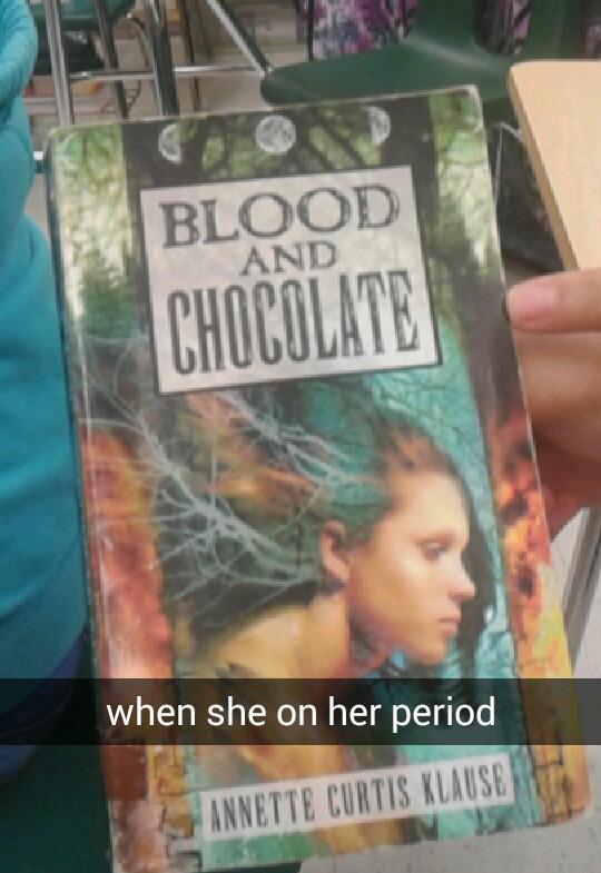 bloody chocolate - meme